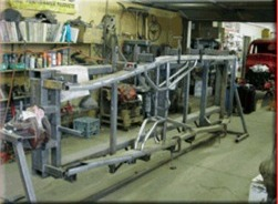 Heinzmans Street Rod Shop Chassis