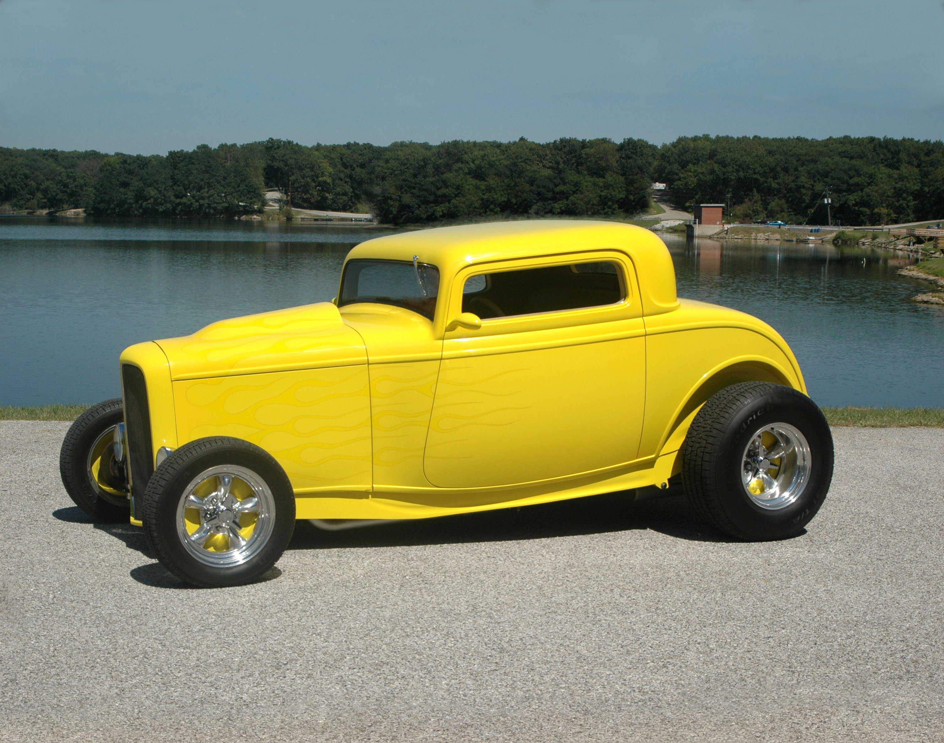 1932 ford 3 window coupe hotrod hotline for 1932 3 window ford coupe