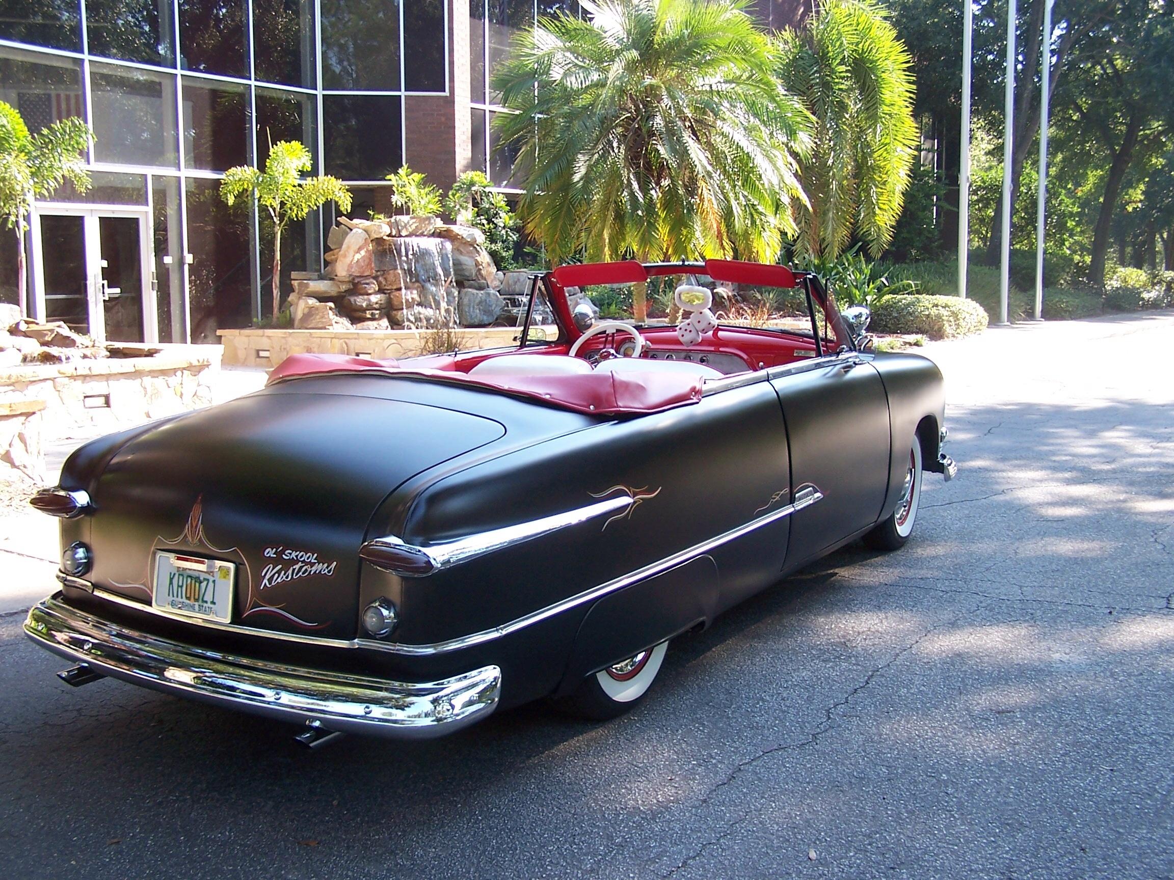 ford convertible custom hotrod hotline