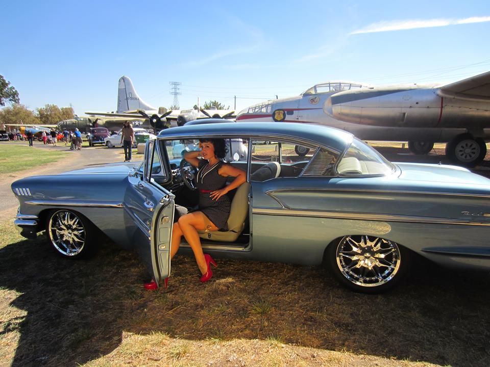 Mr And Mrs Carter S 1958 Chevrolet Bel Air Hotrod Hotline
