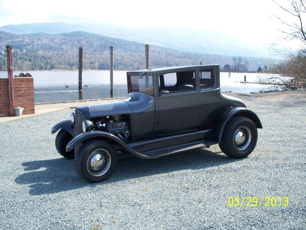 Torsten Pundt S 1926 Ford Model T Hotrod Hotline