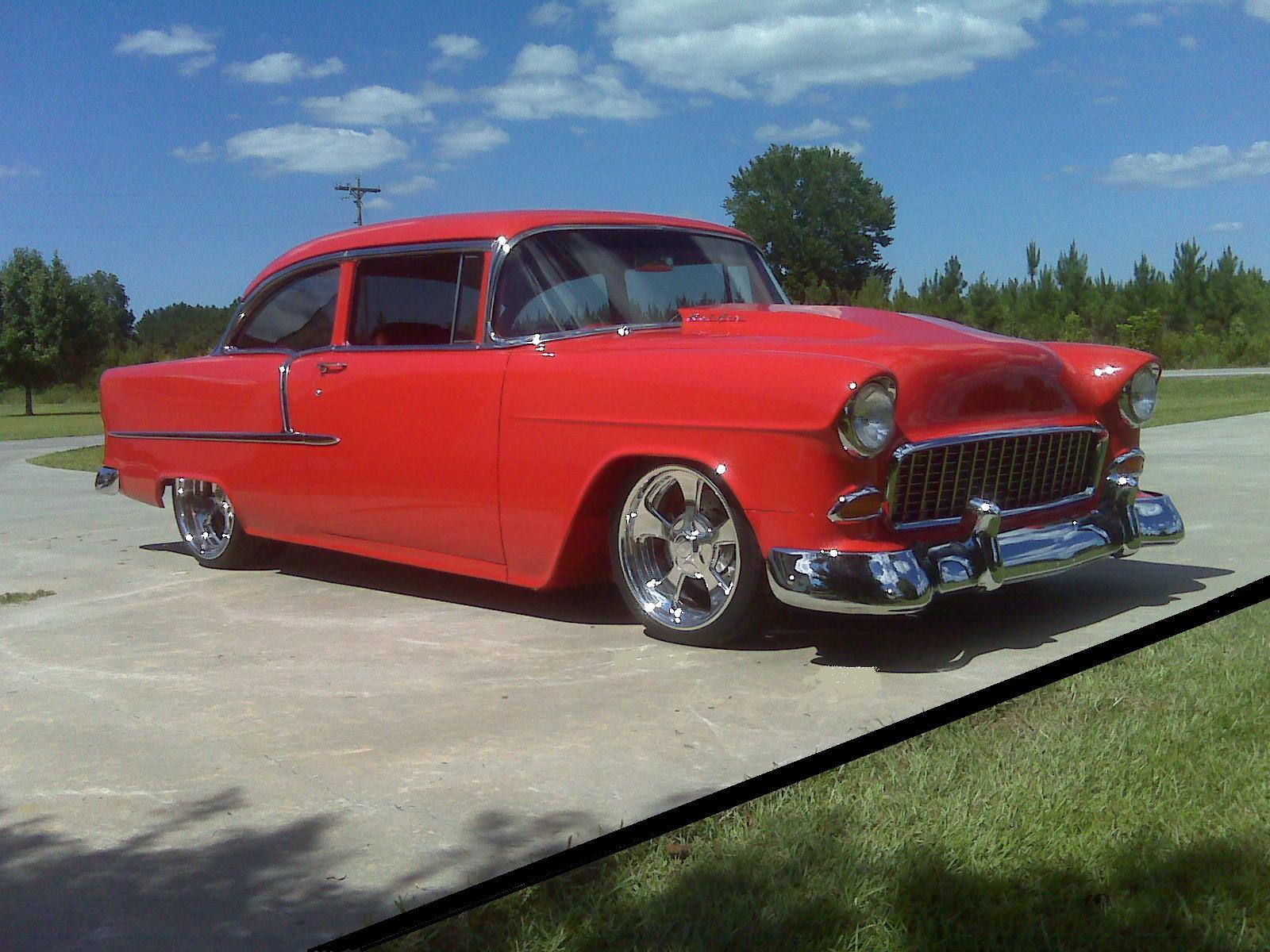 1955 Bel Air Post | Hotrod Hotline