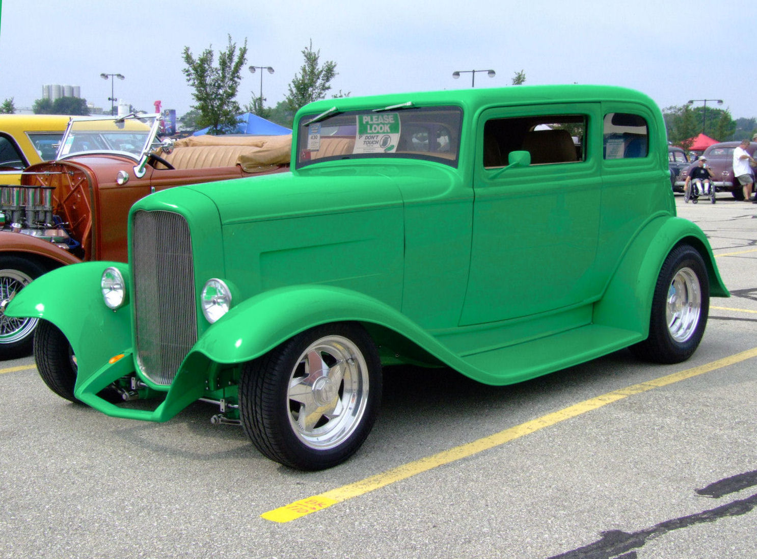 My 32 Ford Victoria Hotrod Hotline