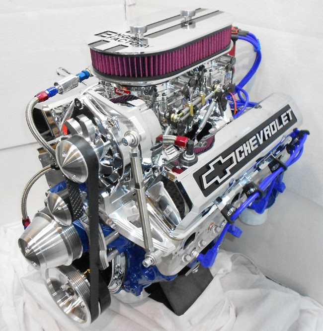 Chevy Truck With 383 – BIkers