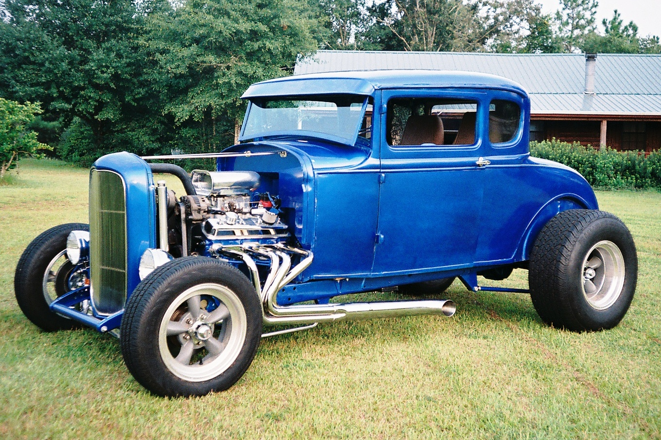 1930 ford model a 5 window coupe hotrod hotline