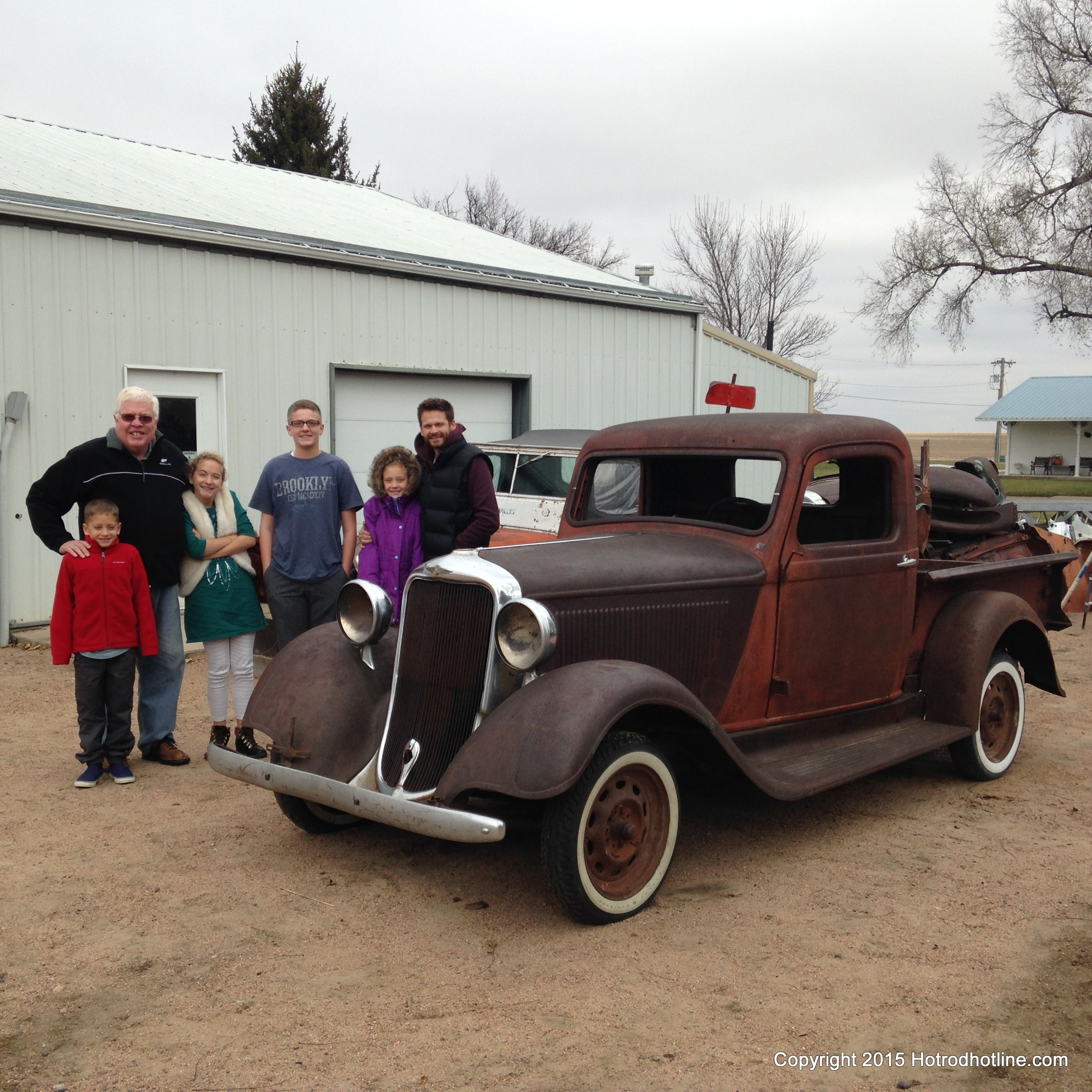 Don Holsingers 35 Dodge Pickup