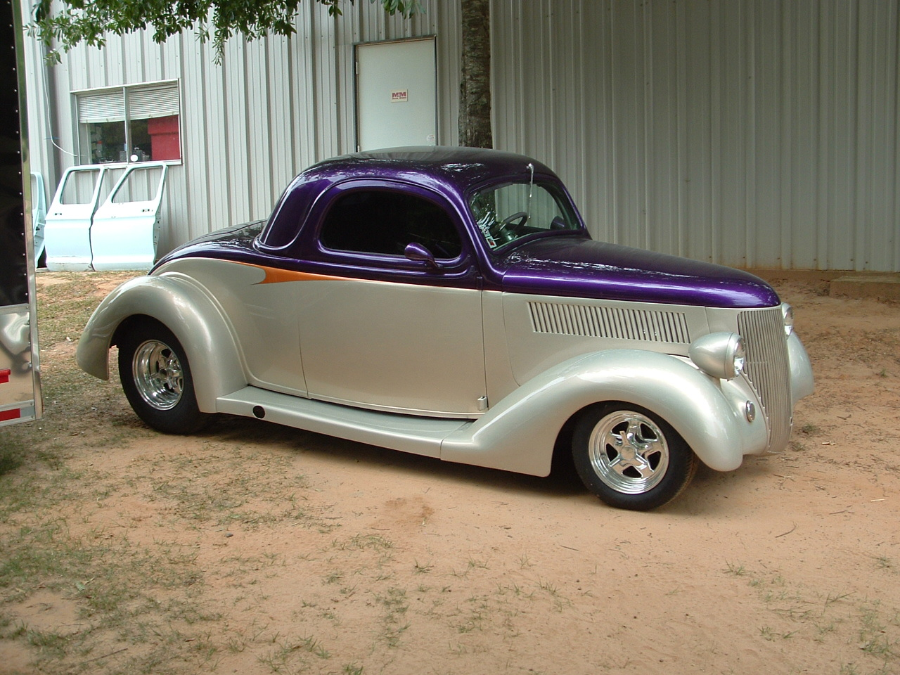1936 ford 3 window coupe hotrod hotline for 1936 3 window coupe