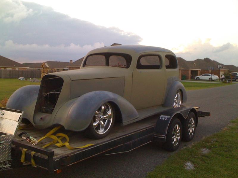 1936 chevrolet master hotrod hotline for 1936 chevrolet 4 door sedan
