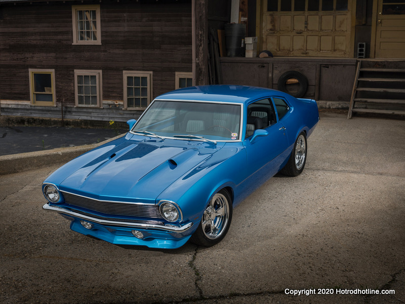 Car Features Glenn Sinon And His 1972 Ford Maverick Hotrod Hotline