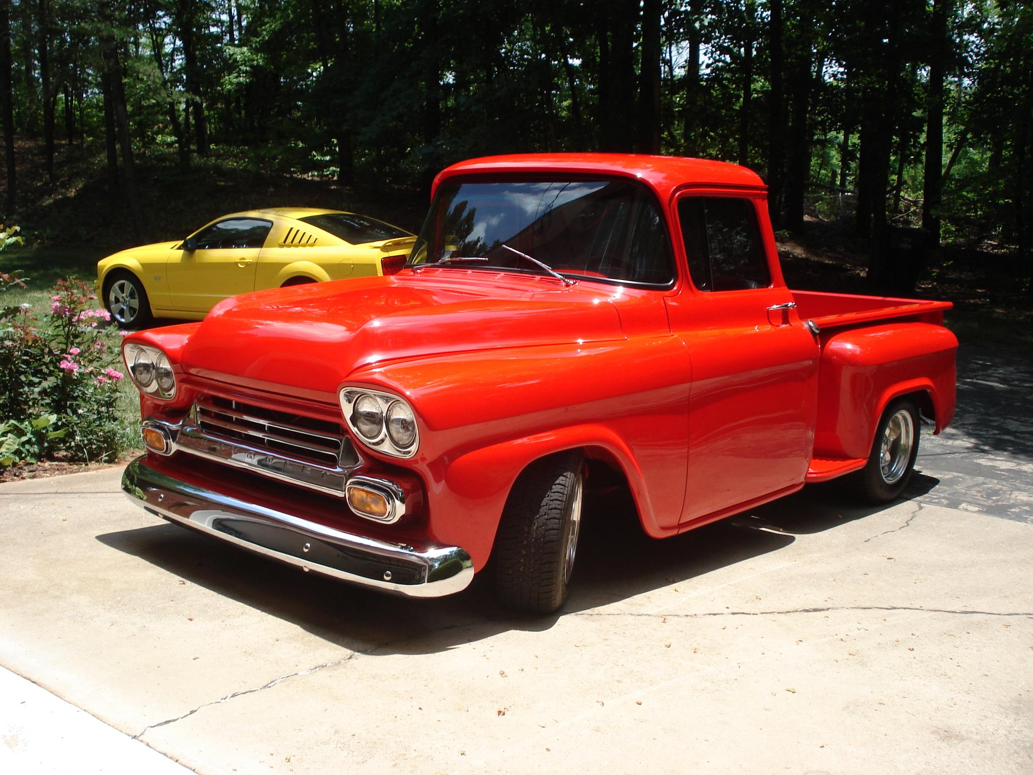 1958 Chevy Apache Hotrod Hotline