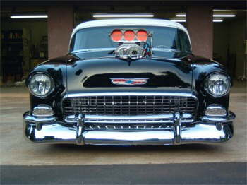 Chevy Muscle Cars >> Greg Cape's Pro Street '55 Chevy | Hotrod Hotline