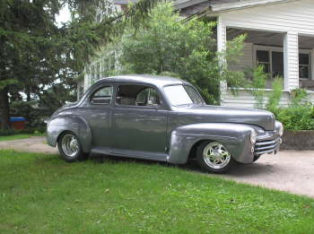 Don Scherrer S 1947 Ford Coupe Iowa Hotrod Hotline