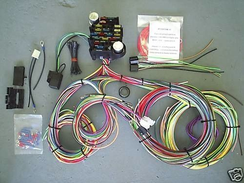 ez wiring harness kit hotrod hotline rh hotrodhotline com ez wiring kits for 1953 ford f100 ez wiring kit jeep cj7