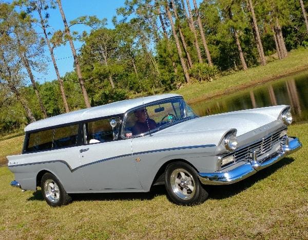 57 Ford Del Rio Hotrod Hotline