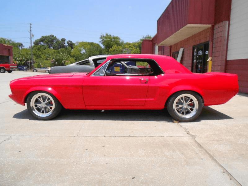 Rusty Gillis Immaculate 68 Mustang Hotrod Hotline