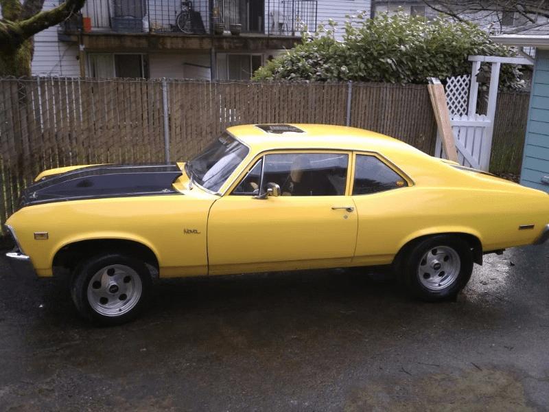 A Nova with Custom Corvette Suspension | Hotrod Hotline