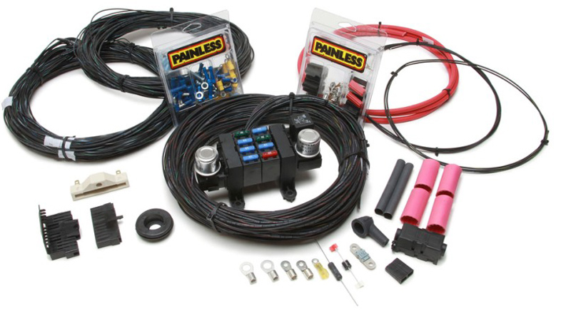hot rod wiring kit solidfonts ez wiring harness hot rod network