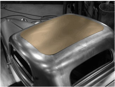 Steve S Auto Restorations 1933 34 Coupe Roof Insert