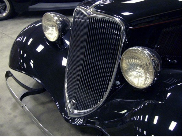 Portland Car Show >> Steve's Auto Restorations 1933 Grille - stamped steel, Plain (fits all passenger cars) | Hotrod ...
