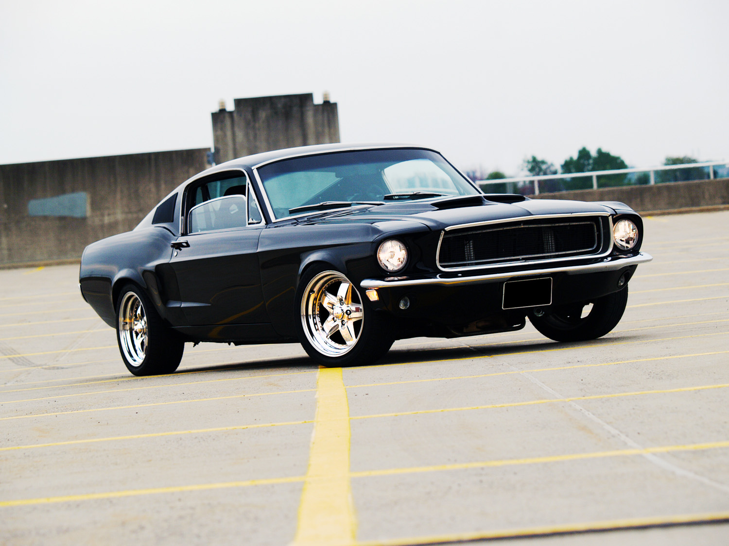 Muscle Car Madness 1968 Ford Mustang Fastback Hotrod Hotline