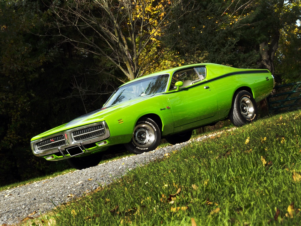 Muscle Car Madness 1971 Dodge Charger R T Hotrod Hotline