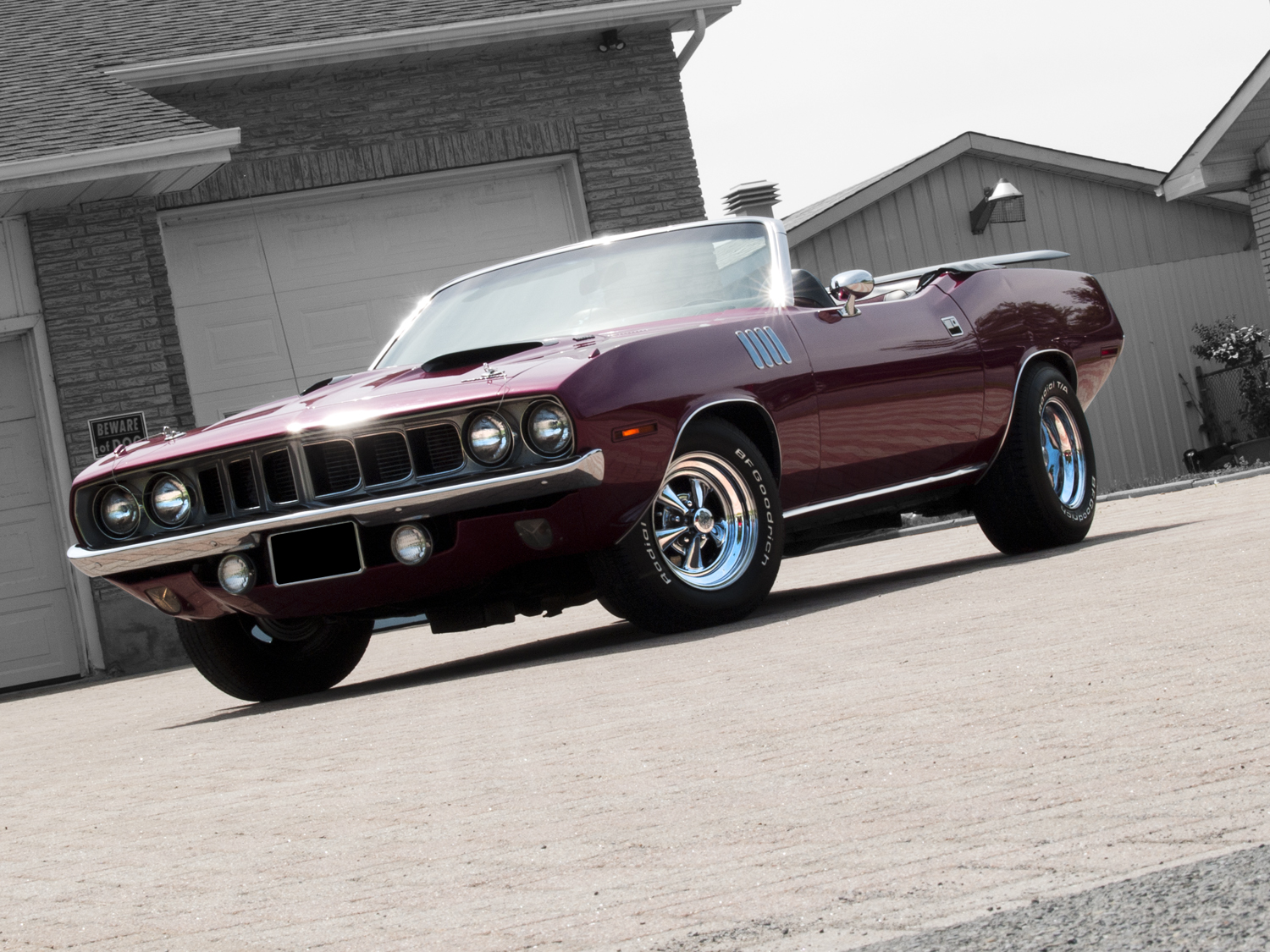 Muscle Car Madness 1971 Plymouth Cuda 440 5 Speed Hotrod Hotline