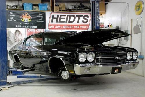 Heidts ROUTE MUSCLE CAR PARTS Hotrod Hotline - Muscle car parts
