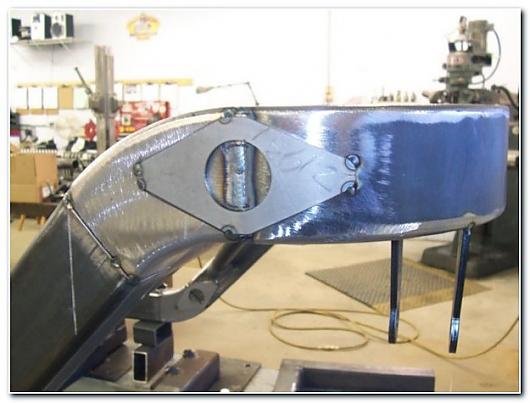 welder series inc  frame rails
