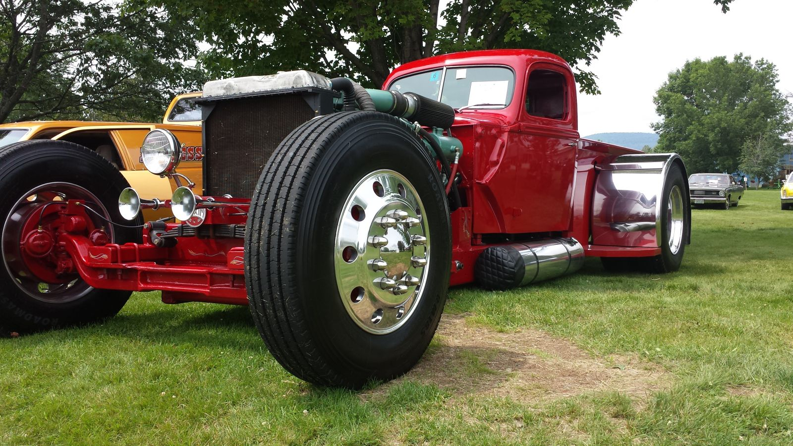 Jay Oullette\'s Mean Diesel \'46 Ford Pickup | Hotrod Hotline