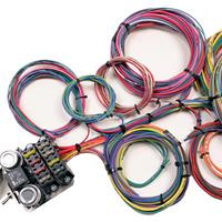 kwik wiring harness kwik wire 8 circuit street rod wiring harness | hotrod hotline #13