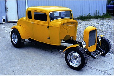 Davviki 32 Ford 5 Window Coupe Rolling Package Special Hotrod Hotline