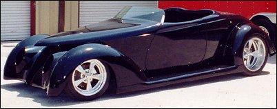 Bebops Glass Works 1937 Ford Roadster Highboy Hotrod Hotline