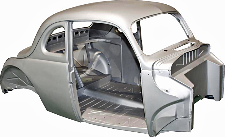 Steel reproduction bodies hotrod hotline for 1934 ford floor pan