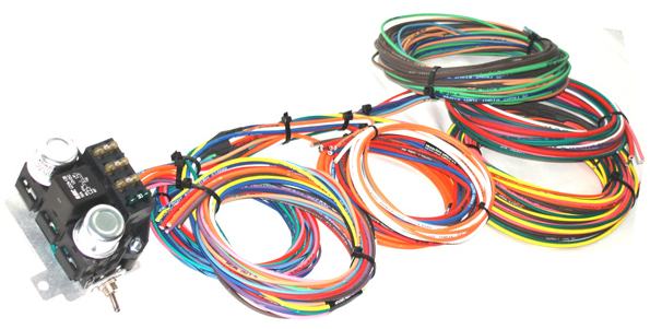 kwik wire 48 special wire harness hotrod hotline rh hotrodhotline com universal wiring harness hot rod hot rod wiring harness uk
