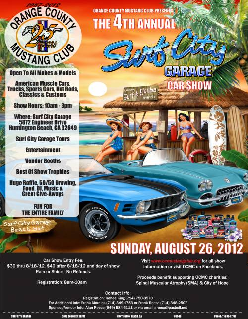 4th Annual Surf City Garage Car Show | Hotrod Hotline on hot rod scallops, hot rod gas tanks aluminum, hot rod fire, hot rod hardware inc, hot rod shop, hot rod home garages, hot rod police, hot rod fuel tanks, hot rod logos, hot rod life, hot rod library,