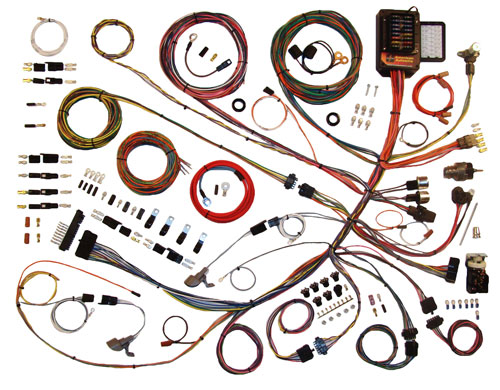 american autowire 1961 1966 ford truck complete wiring kit classic update series complete wiring kit