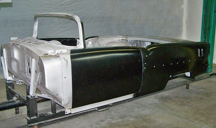 Steel Reproduction Bodies Hotrod Hotline