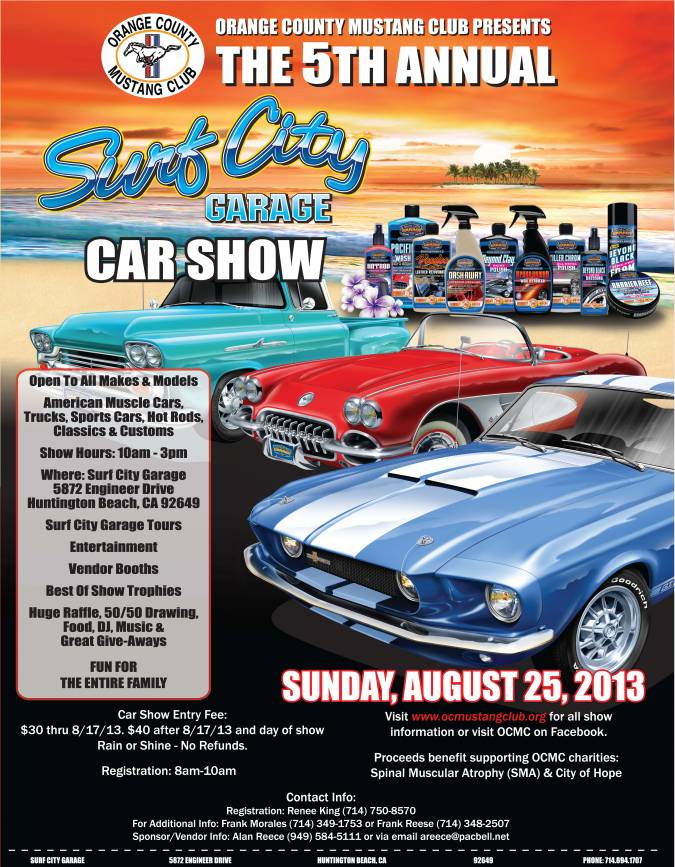 Surf City Garage Th Annual Car Show Hotrod Hotline - The count car show