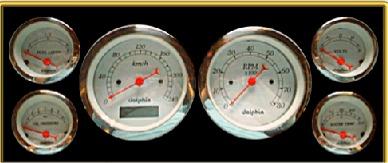 dolphin gauges metric gauges hotrod hotline