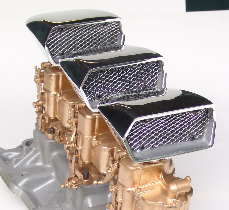 Custom Made Air Cleaners : O brien truckers air cleaner bbl scoop hotrod hotline