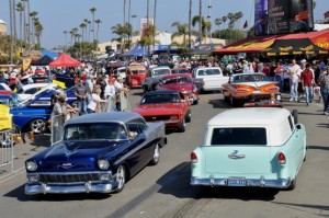 Good Guys Car Show Pleasanton  Cruise Video