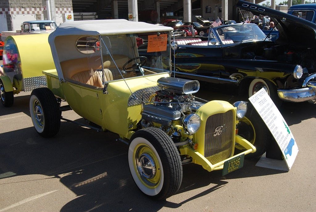 """Stretched Model T Bucket """"Project"""" Car 