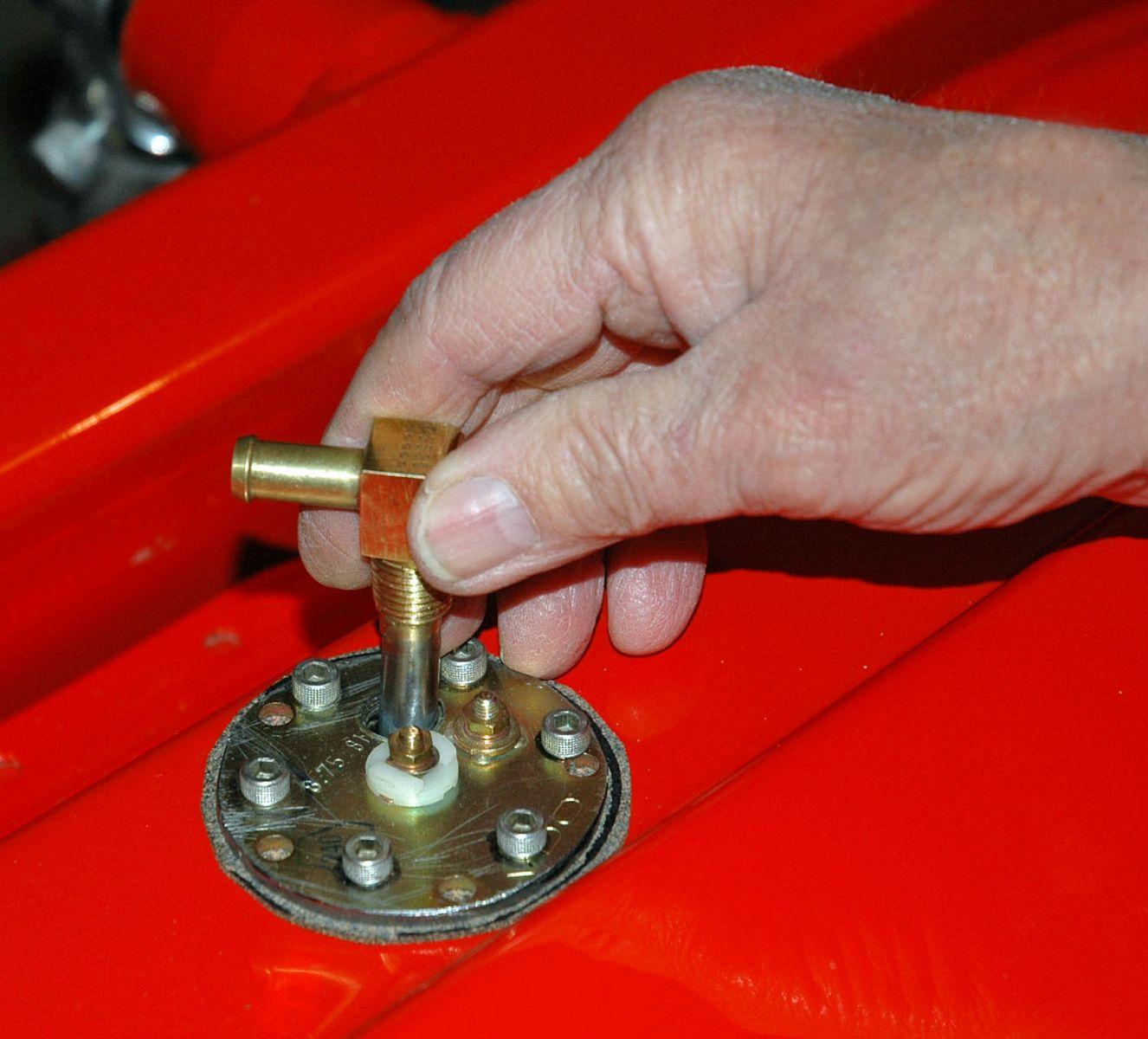 installing a fuel gauge and sender