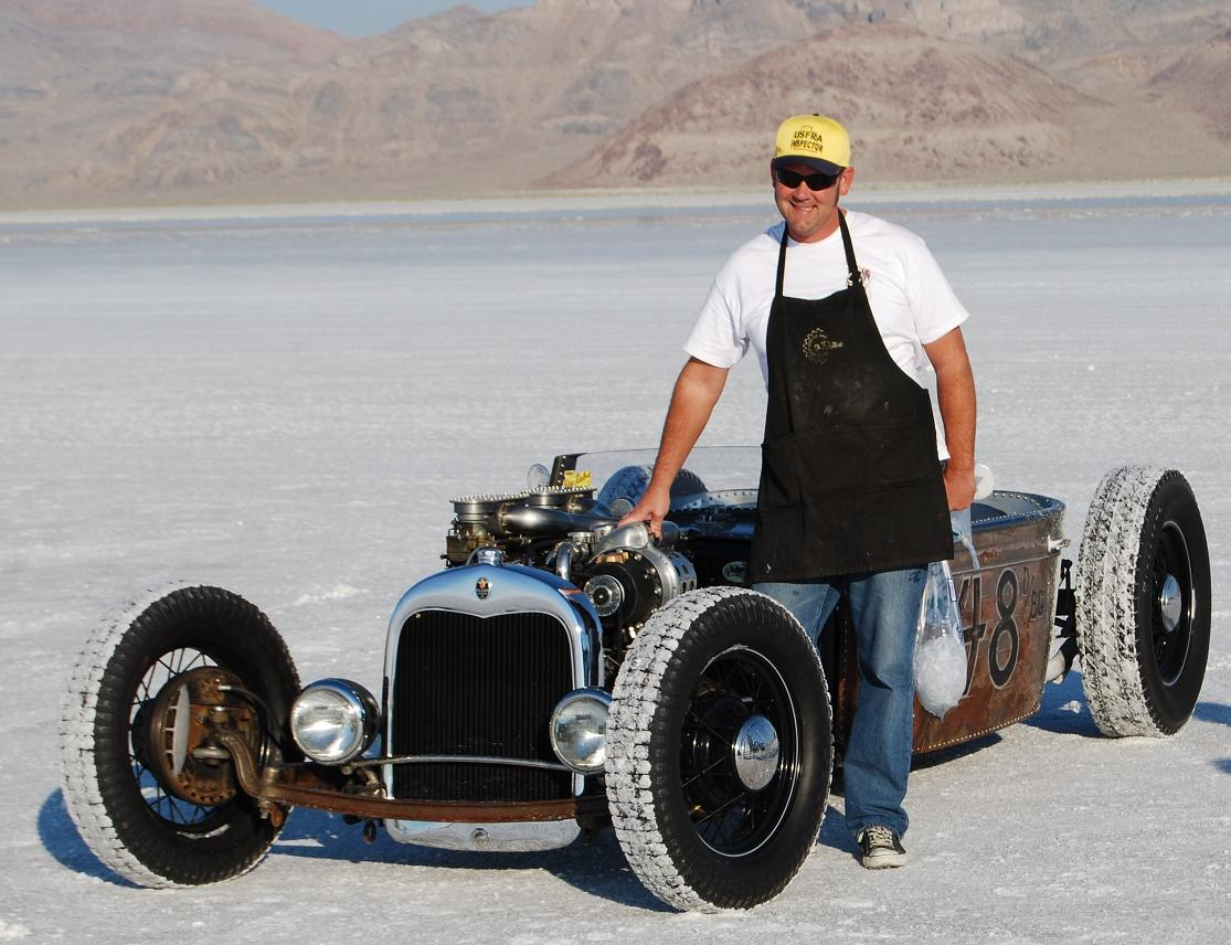 Rivet Gun Hot Rod Packard | Hotrod Hotline
