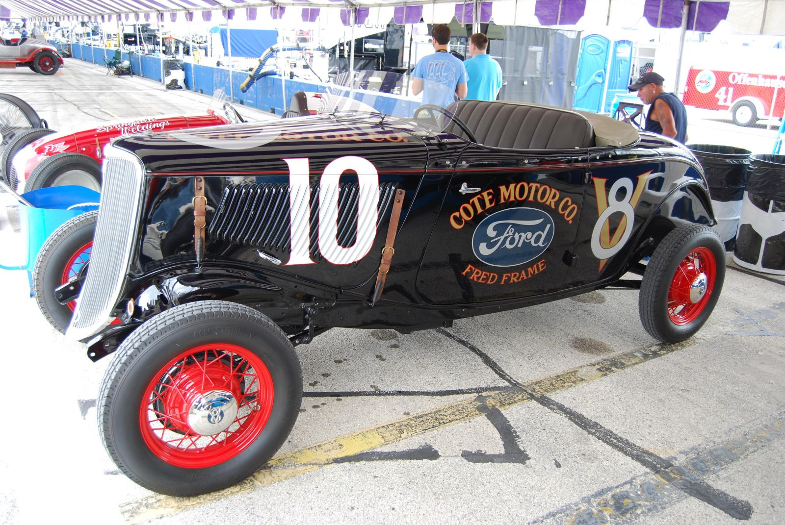 America\'s First Stock Car was a Hot Rod Ford | Hotrod Hotline