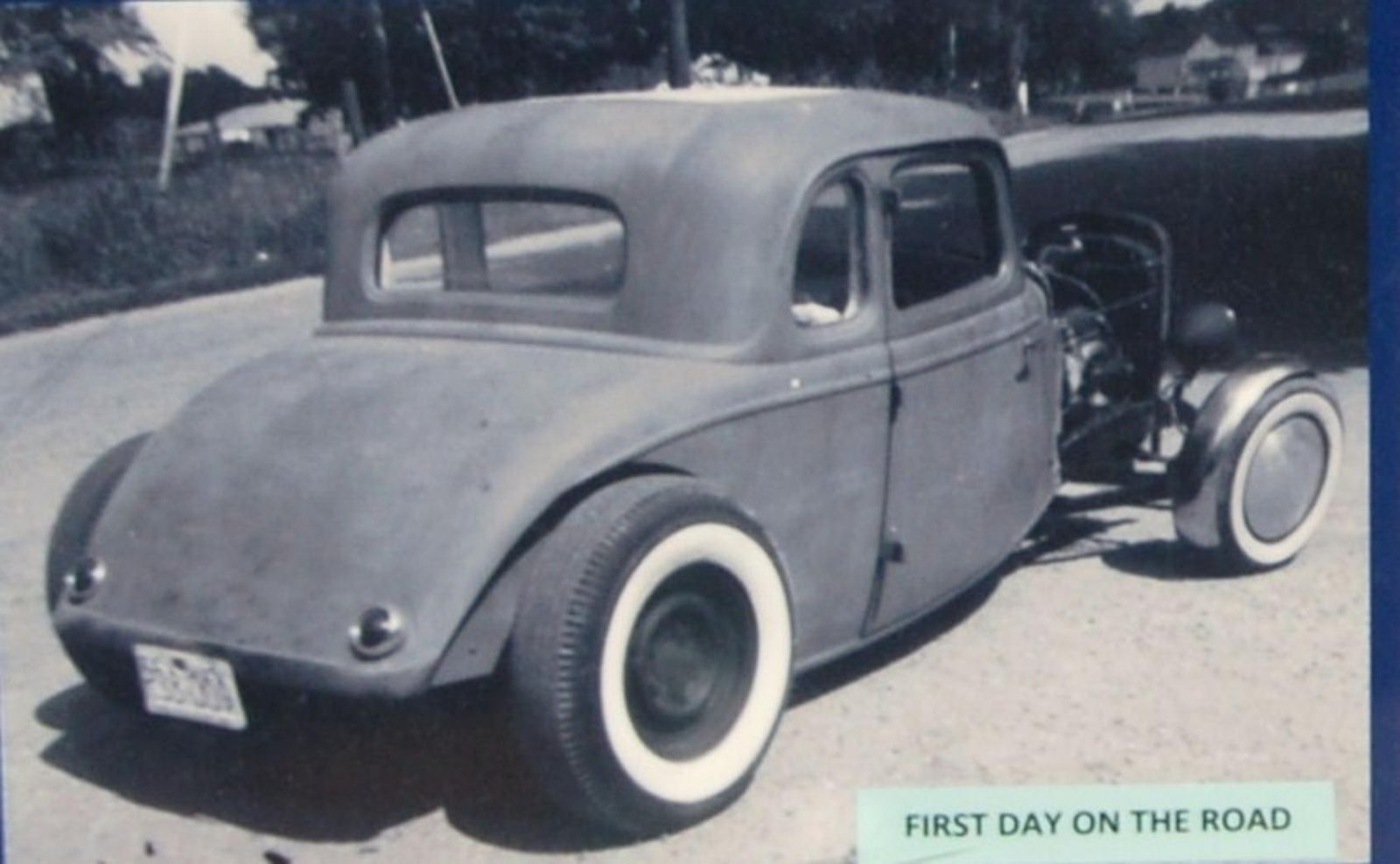 Blue \'34 Ford Coupe: Why change a good thing? | Hotrod Hotline
