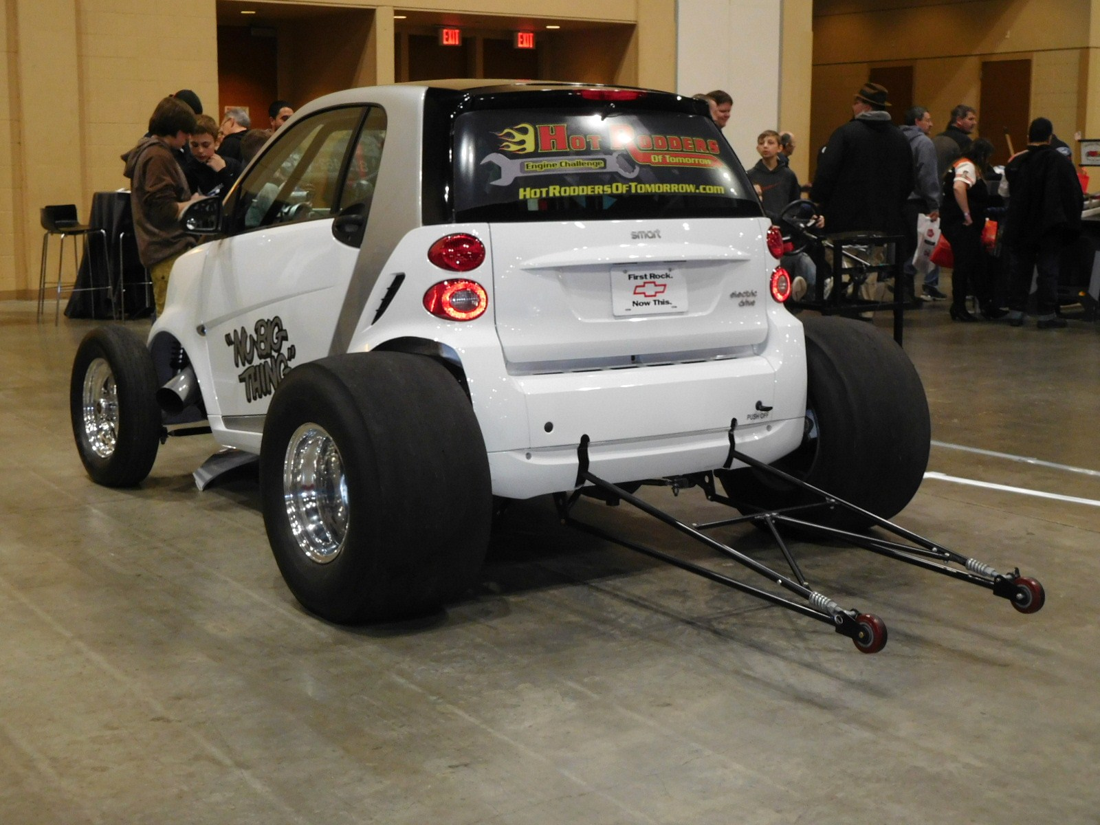 How Much Does A Car Weigh >> World's Fastest Smart Car | Hotrod Hotline