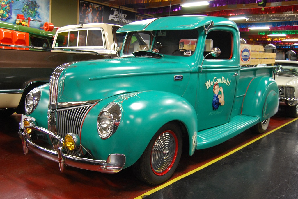One Fancy Old Hot Rod Pickup at Volo Museum   Hotrod Hotline