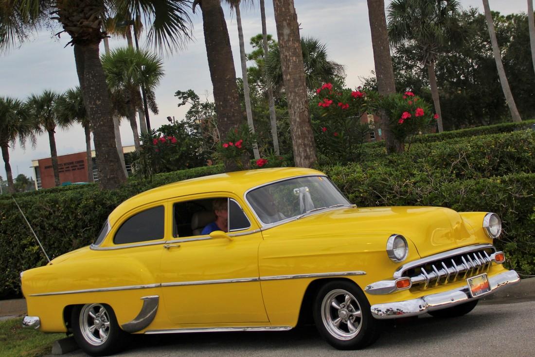 Lemon Ice: A 1954 Chevy 210 | Hotrod Hotline