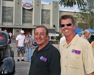 John & Blake Bowser & The Legendary Auto Club Famoso Raceway